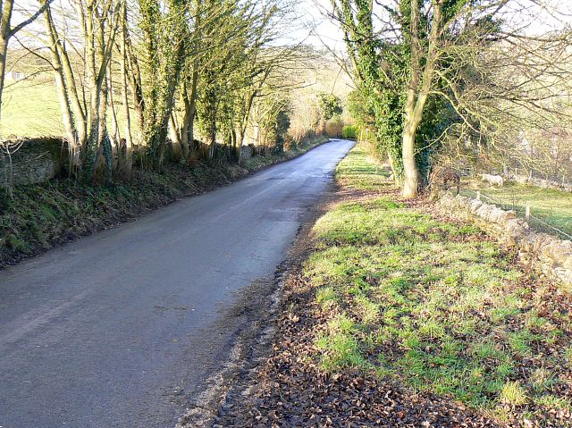 The road to Bleakmoor from the Hemplands