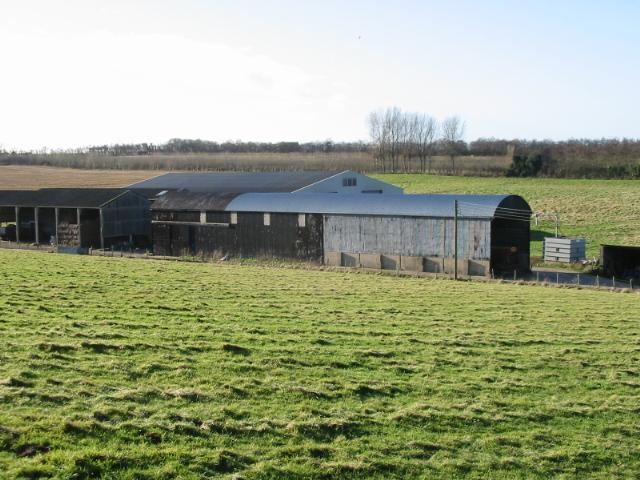 Farm buildings at Little Crockshard Farm