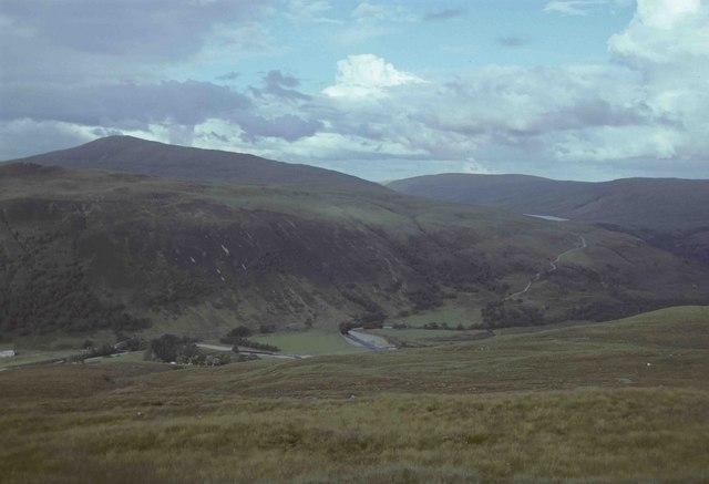 Moorland above Glen Achall