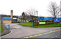SE1136 : Cottingley Village Primary School - Cottingley Moor Road by Betty Longbottom