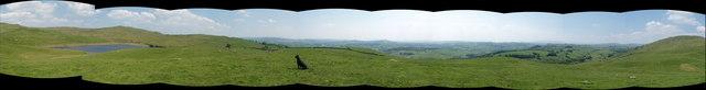 Panorama above Potter Tarn