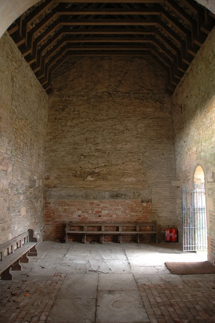 Interior of Odda's Chapel