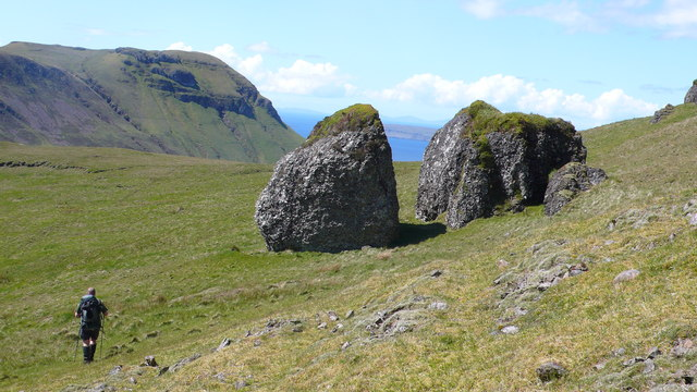 Split-Rock in Glen Guirdil