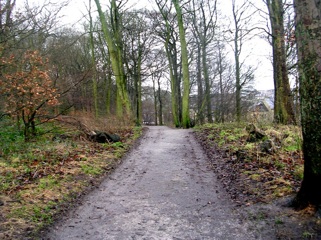 Entrance to Chellow Dene - Haworth Road