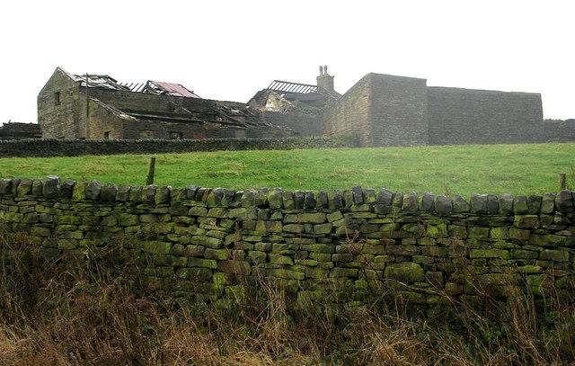 Derelict Farm Buildings - above Haworth Road