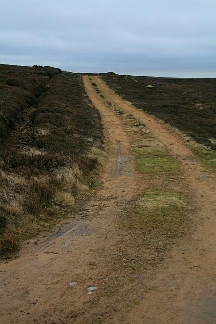 Shooting Track on Urra Moor (1)