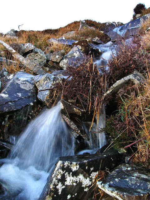 Mini waterfall, Bizziard Fell