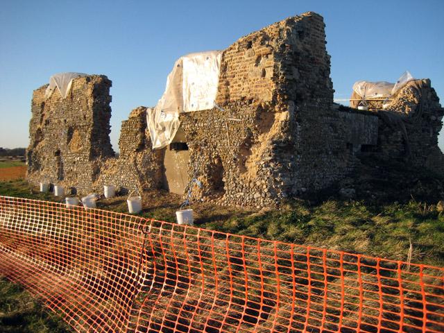 Minsmere Chapel under restoration