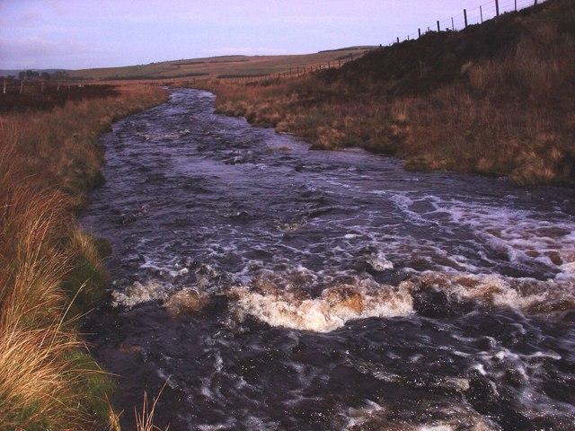 The Abhainn Sgitheach river