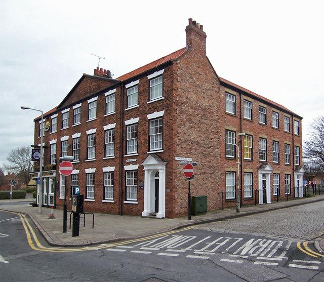 Nos. 22-25 Worship Street, Hull