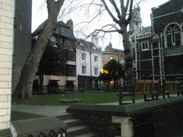 Churchyard of St Bartholomew the Great