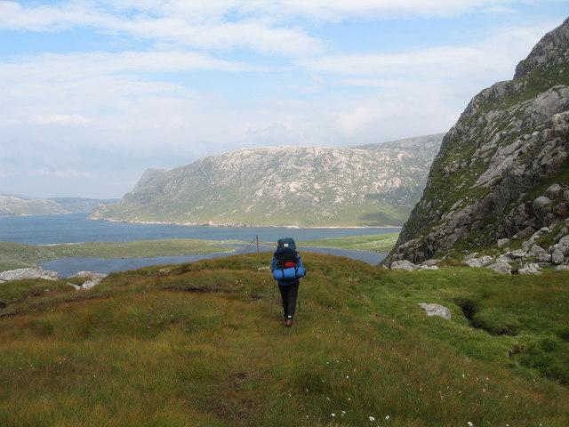 Footpath to Crabhadail