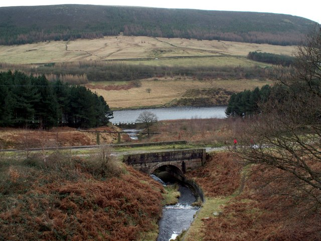 The water course to Rhodeswood Reservoir