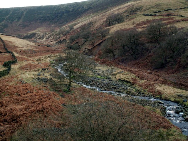 Torside Clough from the Trans Pennine Trail