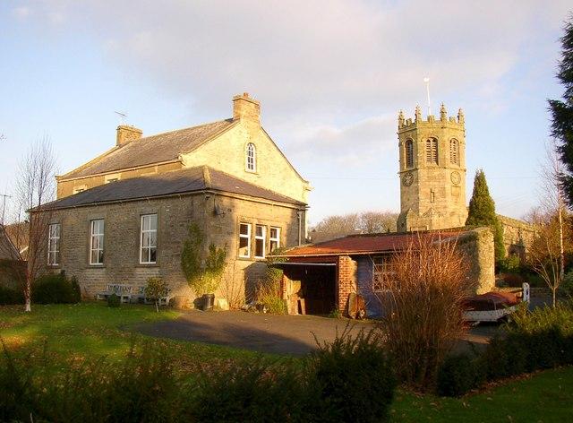 The rear of St Mary's RC Church, Hornby
