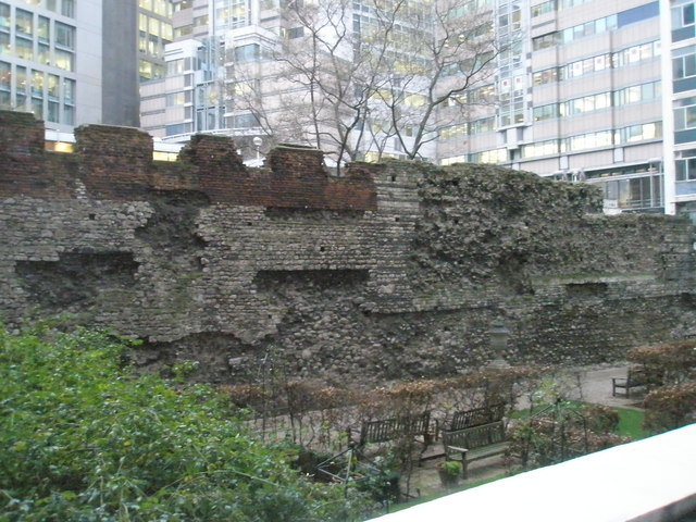 Site of St Alphage, London Wall