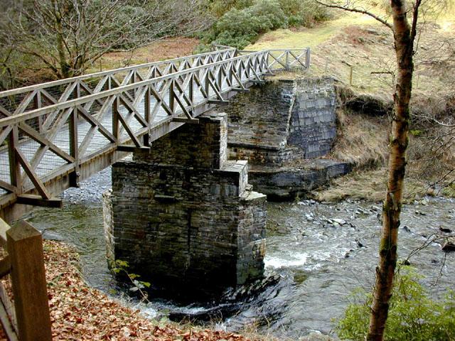 The Alpine Bridge, Hafod