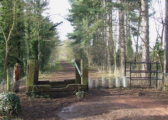Old Railway Walk, near Himley, Staffordshire