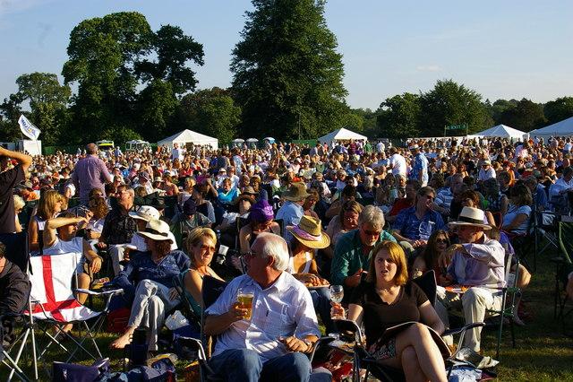 Westonbirt openair concert