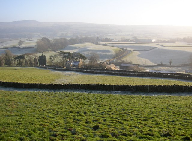 View over the Conder valley, Scotforth