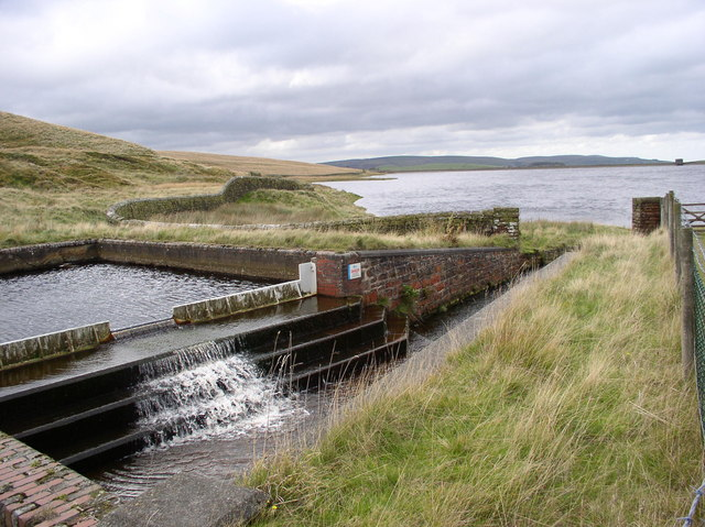 Cant  Clough Reservoir