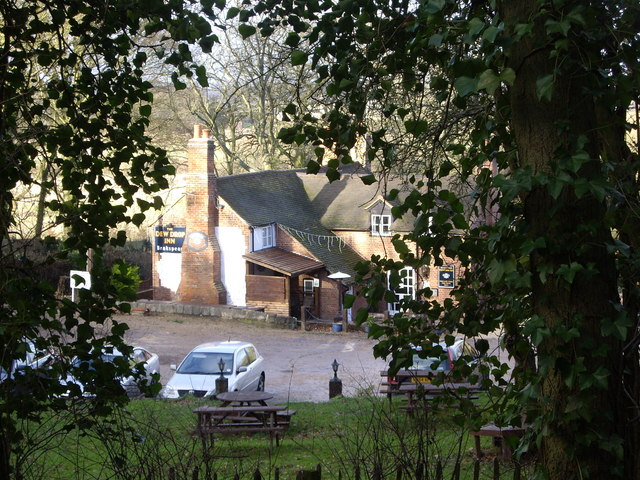 Dew Drop Inn from the public footpath