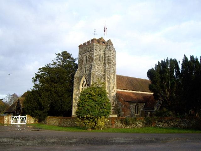 Waltham St Lawrence Church