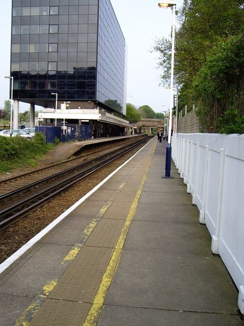 View from Reading platform at Bracknell station