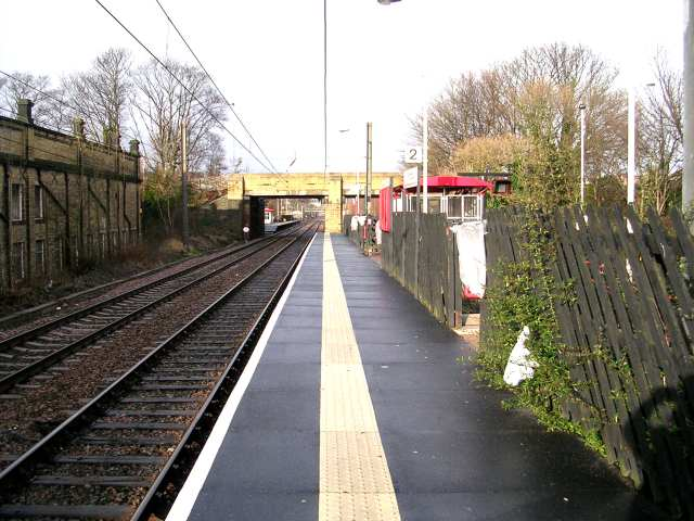 Platform 2 - Frizinghall Station