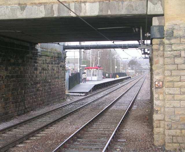Platform 1 - Frizinghall Station