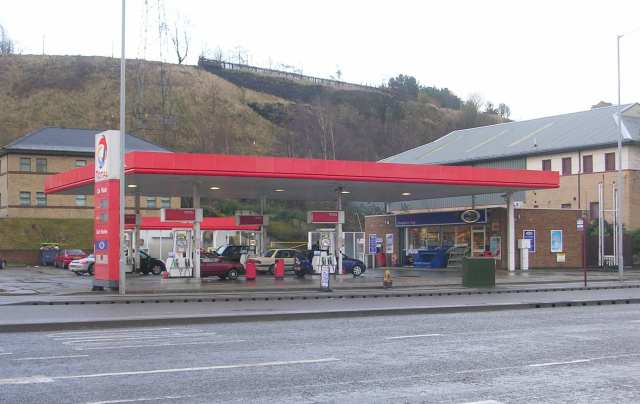 Total Filling Station - Canal Road