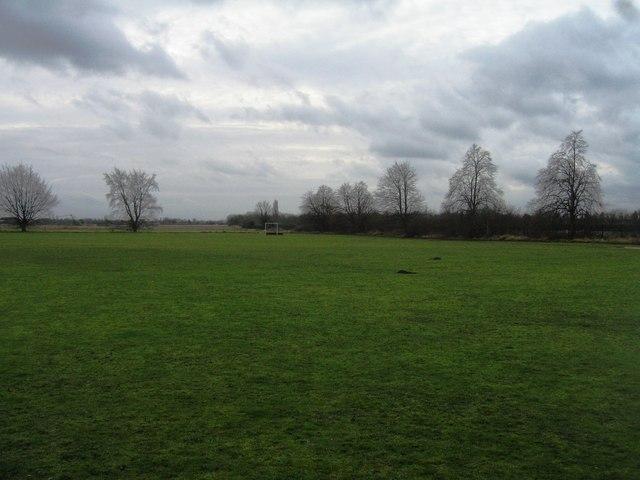 School playing fields