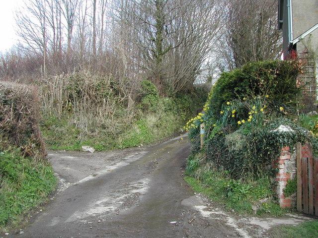 Netherton: Gatcombe turning