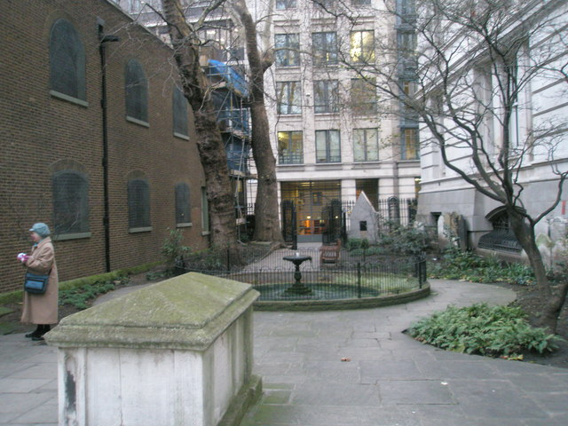 Churchyard of St Botolph without Aldersgate