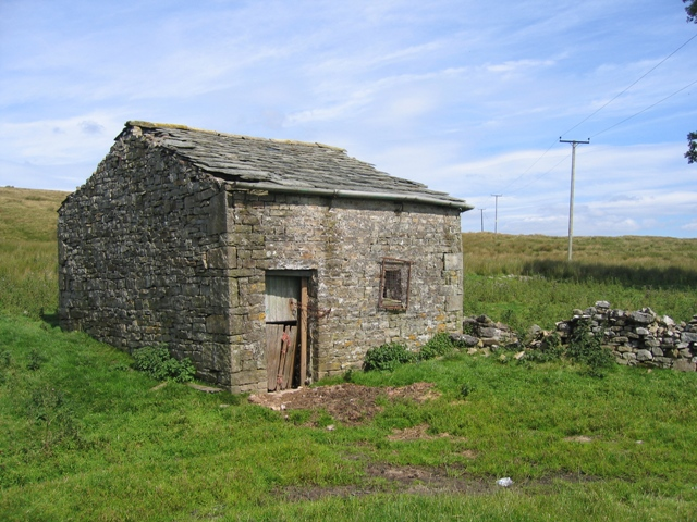 The old barn at Gearstones