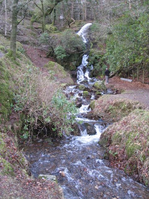 Water Falls - West side of Burrator Reservoir