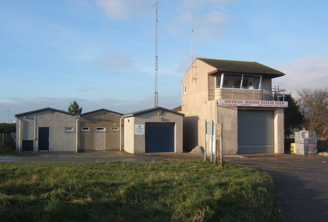 Haverigg Inshore Rescue station