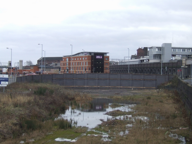 Disused GWR trackbed, Wednesfield Road