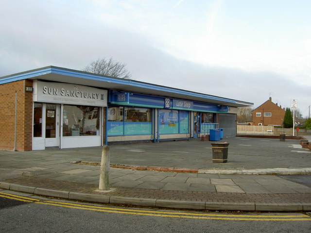 Co-op Late Shop on Manor Drive.