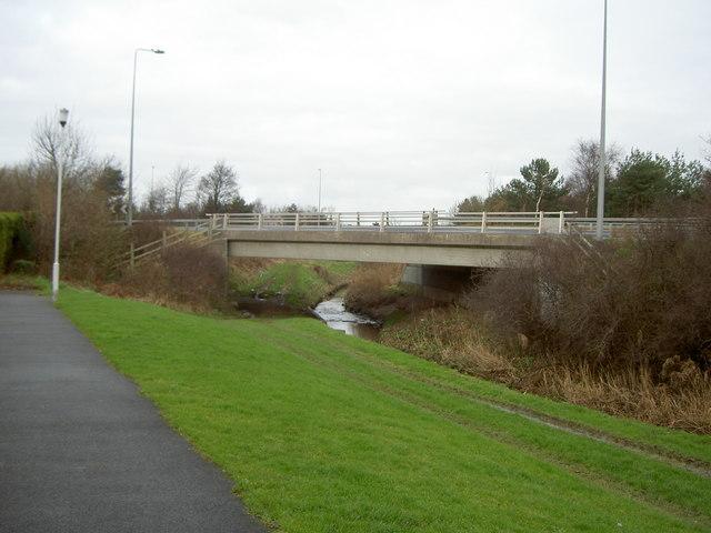 Road Bridge over the Fender.