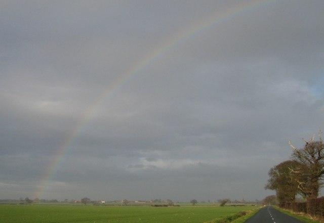 Rainbow over Whinny Lane