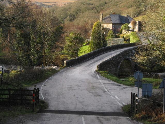 Dartmeet - road bridge