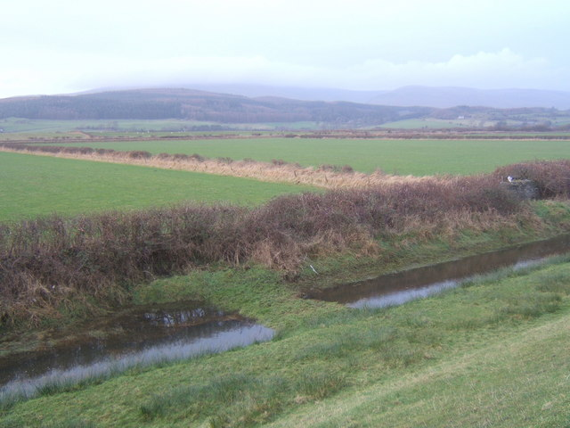 View from embankment north of Millom