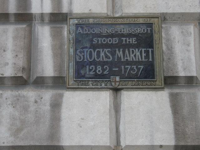 Site of former Stocks Market