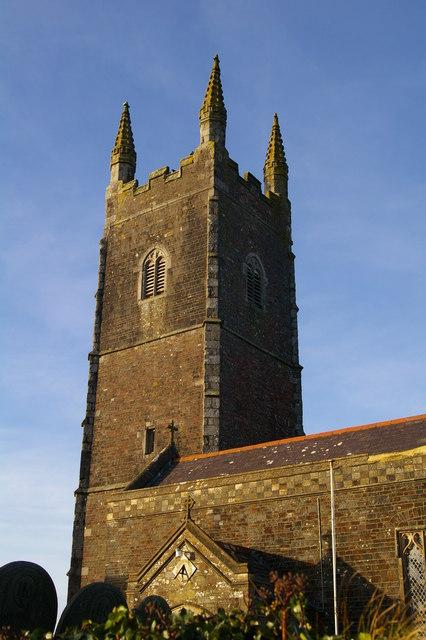 Parkham church tower
