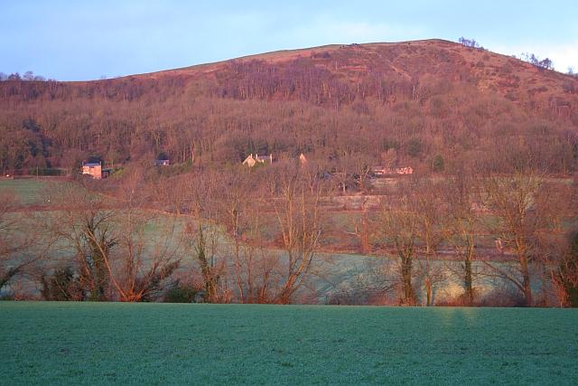 Fields of Little Malvern at Dawn