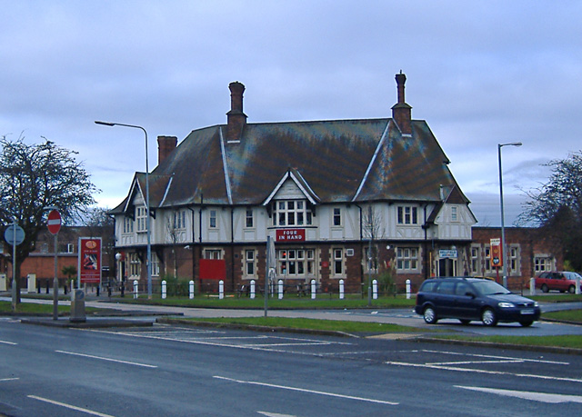 Four In Hand pub, Hull