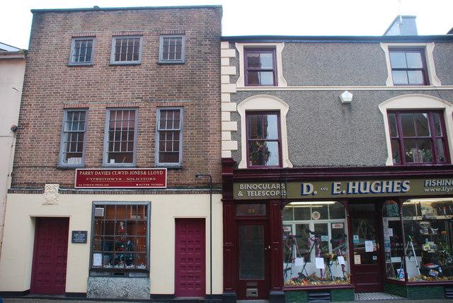 Swyddfeydd Cyfreithwyr Pwllheli Solicitors' Offices