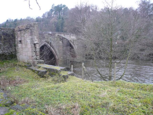 Cromford Bridge and River Derwent