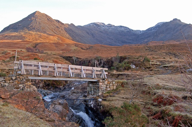 Footbridge over the Allt Coire na Banachdich